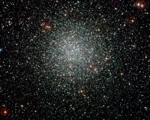 El cúmulo de estrellas en la constelación de la Vela. Foto: EFE