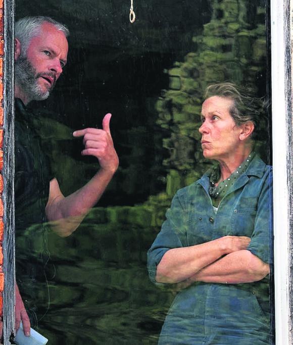 Martin McDonagh y Frances McDormand