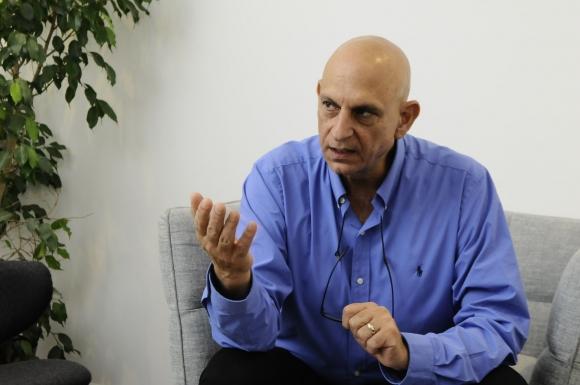 Aharon Aharon. Fue uno de los oradores principales del Punta Tech. Foto: Darwin Borrelli.