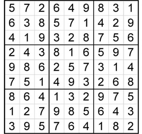 Sudoku.
