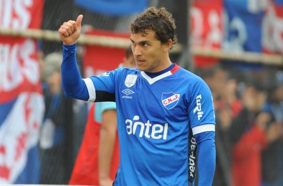 Sebastián Fernández. El delantero terminó el 2017 siendo una de las grandes figuras del equipo tricolor y además, fue el goleador. Foto: Fernando Ponzetto