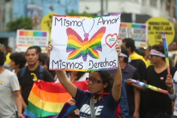 Crímenes y situación de violencia contra la población LGBT son denunciados. Foto: El Comercio (GDA)