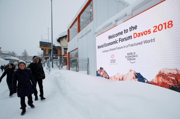 Foro Económico Mundial. Foto: Reuters
