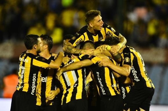 La celebración de un Peñarol otra vez ganador