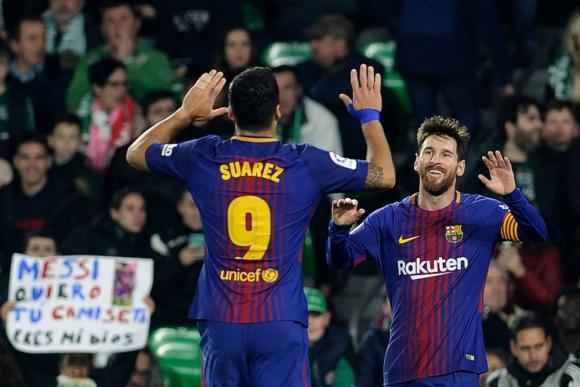 Suárez y Messi, la dupla goleadora más importante del mundo
