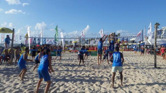 Beach volley en La Rinconada de Piriápolis.