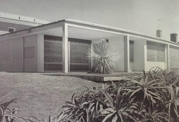 Hogar: fachada de la casa cuando la habitaba el futbolista. Foto: Helio Piñón