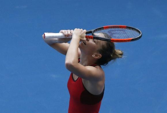 Simona Halep está en la final del Abierto de Australia