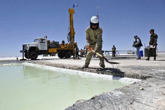Puna. Se busca desarrollar toda la cadena de valor con las reservas de litio en la Puna. Foto: La Nación / GDA.