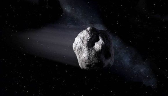 El asteroide. Foto: NASA