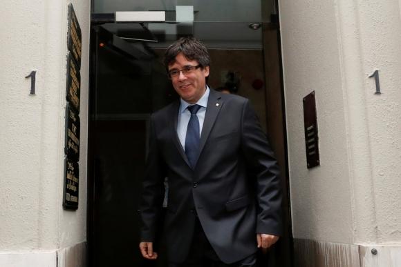Carles Puigdemont. Foto: Reuters