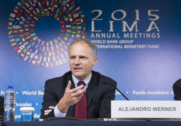 Alejandro Werner. Foto: FMI