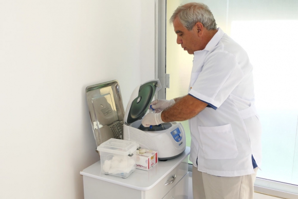 En el consultorio Gyco se realizó uno de los muchos servicios ofrecidos en Punta del Este. Foto: R. Figueredo