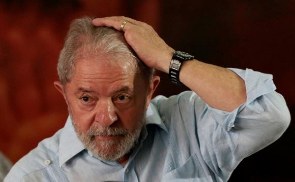 Luis Inacio Lula Da Silva. Foto: Reuters