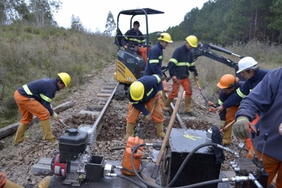 Obras de reparación de vías entre Montevideo y Paso de Los Toros comenzarían en 2019. Foto: Presidencia
