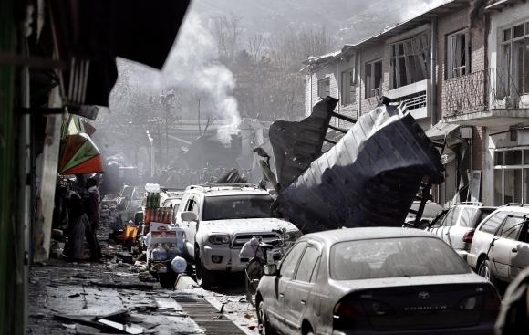Atentado en Kabul. Foto: EFE