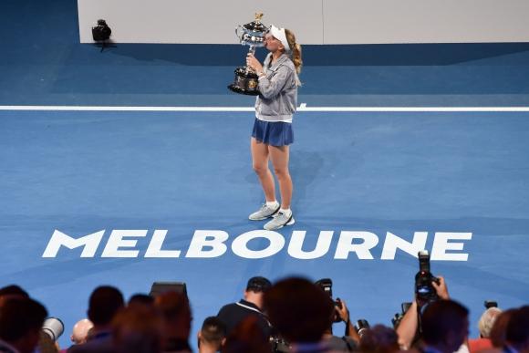 Caroline Wozniacki. Foto: AFP.