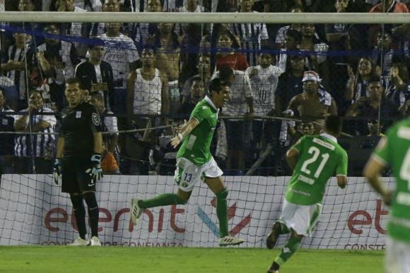 Gol de Sebastián Abreu de cabeza para el triunfo de Audax Italiano