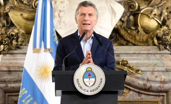 Macri: el presidente argentino arranca el año con una fuerte caída en su popularidad. Foto: Reuters