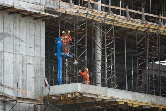 Obra en construcción. Foto: archivo El País