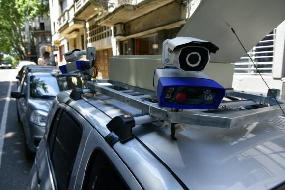Son 15 cámaras de video que rotarán en 60 puntos de Montevideo. F. Ponzetto
