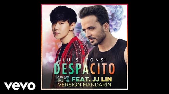 """Versión de """"Despacito"""" en mandarín. Foto: difusión"""