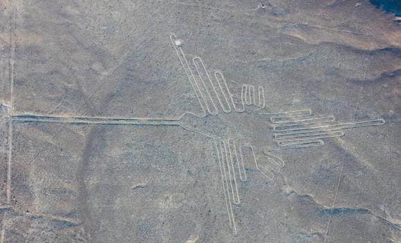 Líneas de Nasca (Perú) Foto: Wikimedia