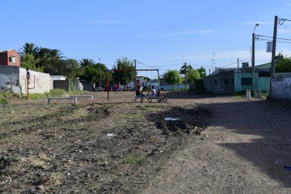 Vecinos dicen que no recibieron una donación que esperaban de la Intendencia. Foto: G. Pérez