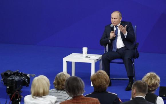 Vladimir Putin. Foto. Reuters