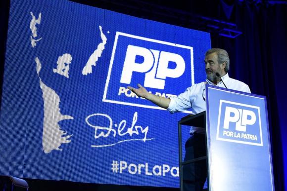 Wilsonismo: Larrañaga tiene el apoyo seguro de esa corriente con Jorge Gandini. Foto: F. Ponzetto