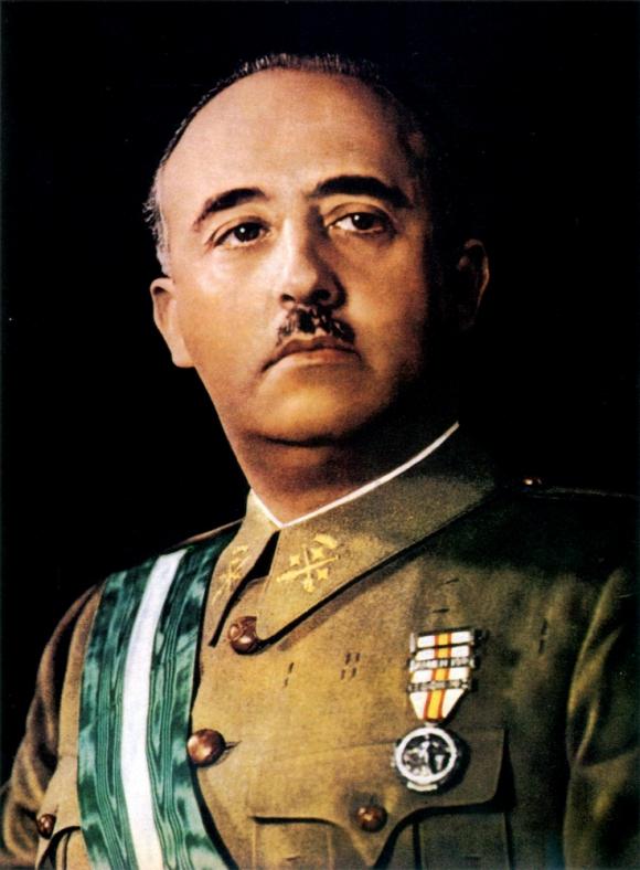 Francisco Franco murió en 1975 pero aún tiene muchos seguidores en España.