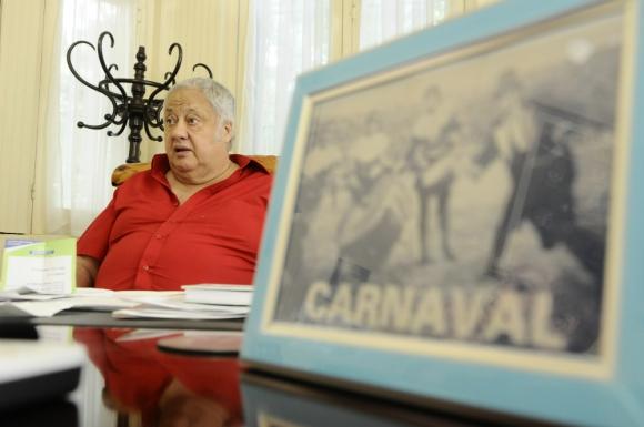En Melo: Espert será nombrado Presidente de Honor del Carnaval. Foto: D. Borrelli