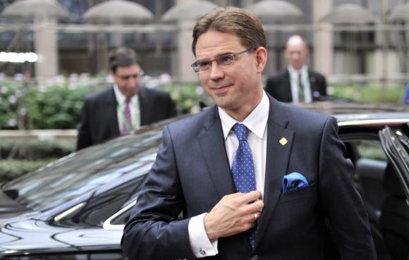 Katainen: el vicepresidente de la UE sigue siendo optimista. Foto: AFP