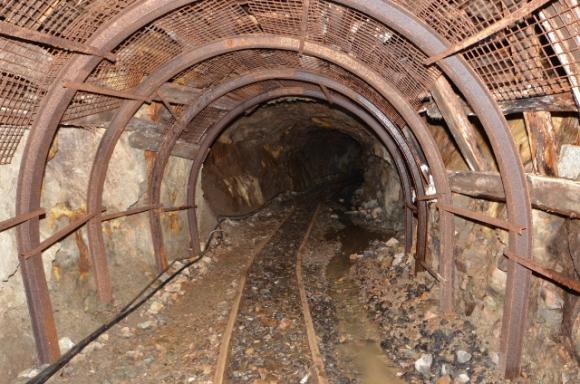 Mina de oro. Foto: Geograph