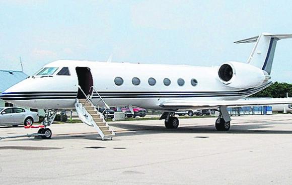 Uno de los jets usados por el gremialista Marcelo Balcedo incautados. Foto: La Nación