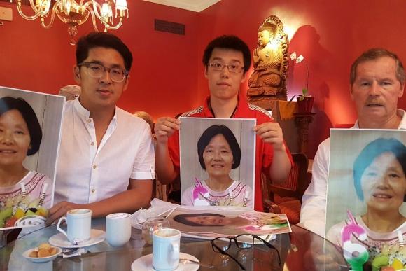 La familia busca a Zhong Qin Sun. Foto: Gentileza familiar / La Nación   GDA
