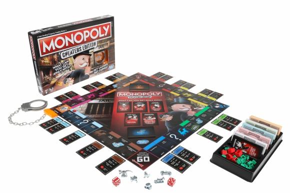 El tradicional Monopolio ahora tendrá su versión para tramposos. Foto: AFP