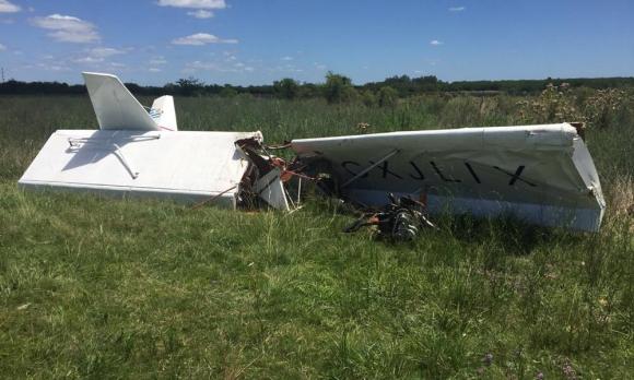 Un avión civil se accidenta en Canelones