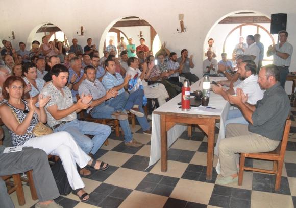 147 delegados de todo el país de los más variados sectores de la producción estuvieron en la asamblea. Foto: Víctor Rodríguez