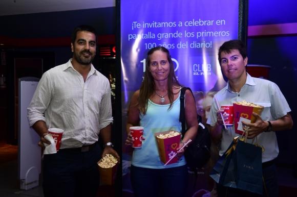 Víctor Escobar, María Fernanda Stevens, Roberto Nute.