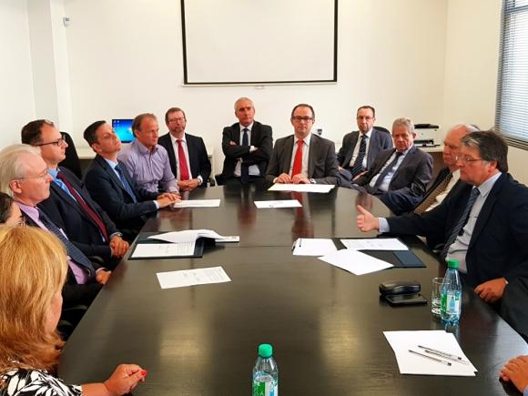 Boskalis-Dredging International firma con la CARP por las obras del canal Martín García. Foto: Archivo