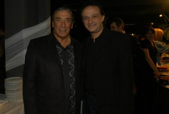 Cacho De la Cruz y Luis Alberto Carballo