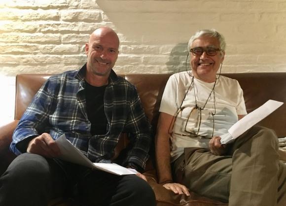El millonario Giuseppe Cipriani y el arquitecto Rafael Viñoly. Foto: El País