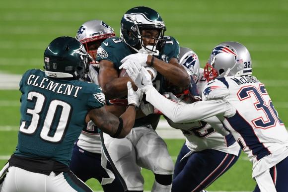 Las mejores imagenes del Super Bowl. Fotos: AFP y Reuters.