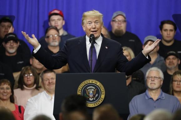 """Trump dijo """"que la tasa de desempleo entre los negros es la más baja de la historia"""". Foto: Reuters"""