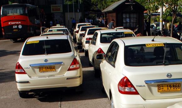 Reunión: la IM canceló ayer un encuentro con la gremial del taxi. Foto: R. Figueredo