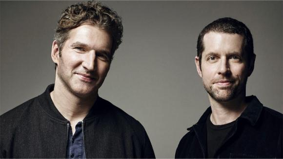 David Benioff y Daniel Brett Weiss. Foto: sitio oficial de Star Wars