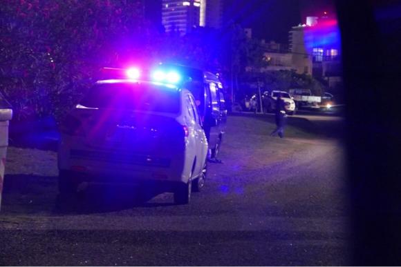 La Policía busca a los asaltantes del hotel. Foto: Ricardo Figueredo