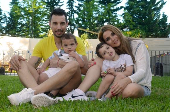 Fabián Carini, disfruta del tiempo en familia