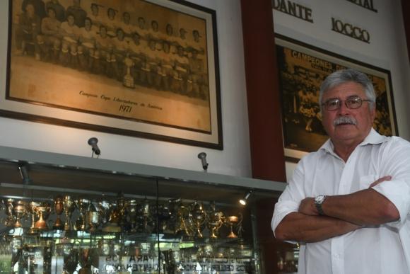 Juan Carlos Blanco, campeón de América con Nacional